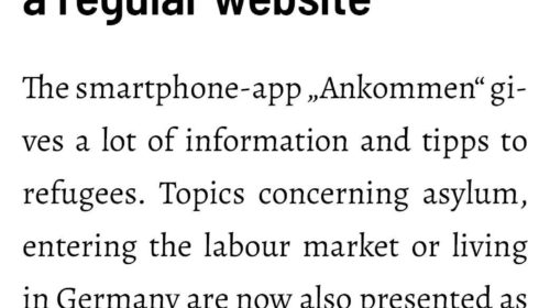 Ankommen-App now as a regular website