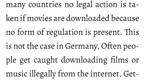 Illegal Downloading