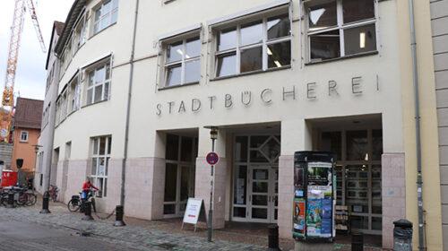 Stadtbücherei Tübingen geöffnet