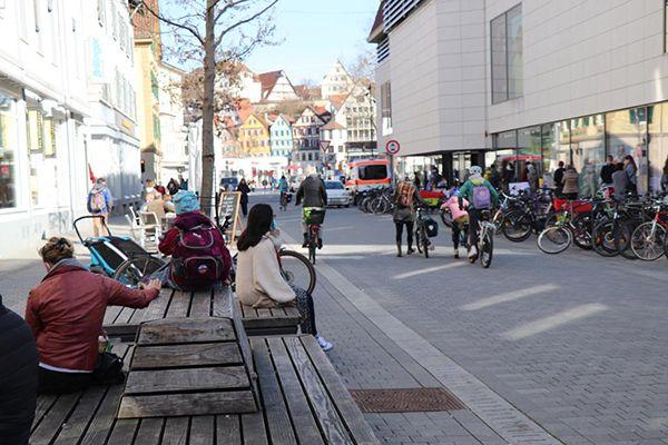 """Auch in Baden-Württemberg gilt ab 24.04.21 die bundesweite """"Corona-Notbremse"""". Foto: tünews INTERNATIONAL / Mostafa Elyasian."""